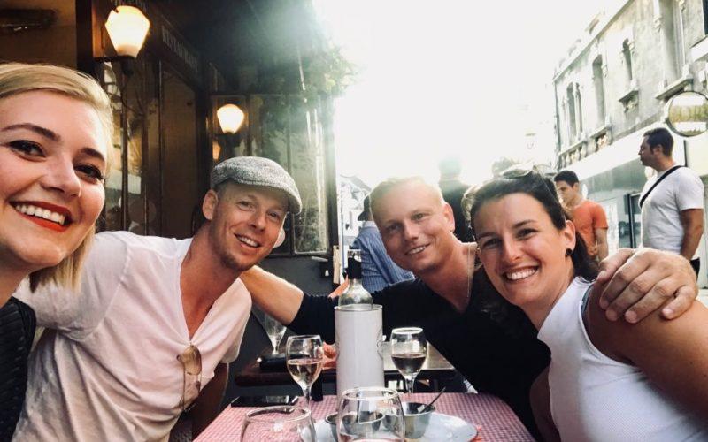 Baukje, Oskar, Jan en Talitha_pride and porridge_co-ouderschap