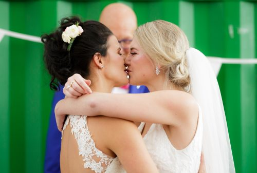 Bruiloft Baukje talitha_de kus_ lesbische bruiloft